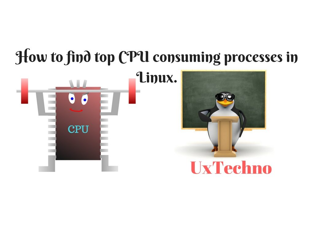 4 Awesome ways to find top CPU consuming processes in Linux.